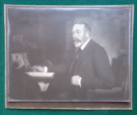Antique Photo Signed by King George V Given to His Physician Sir Willans 1927